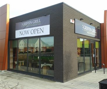 Griffin Grill External Signage