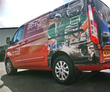Vehicle graphics are a cost effective advertising tool