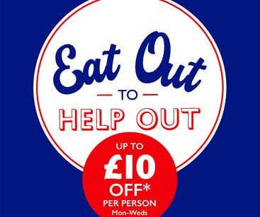 Eat out to help out signage