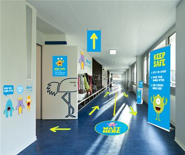 Signage solutions for schools