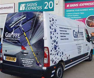 Partial Van Wrap - Signs Express Basildon & Southend