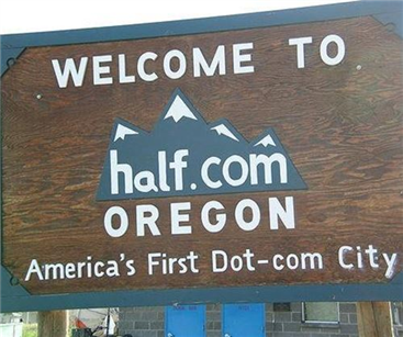 Welcome to Half.com in Oregon