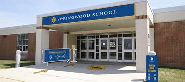 Exterior school signage