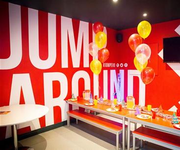 Jump Evolution wall graphics