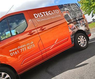 Distec Ltd Vehicle Graphics Manchester