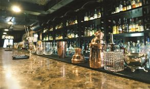 Marble Architectural Finish for Bar