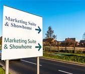 Marketing suite sign