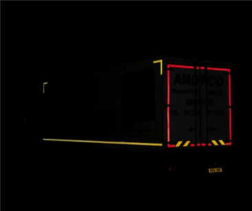Larger vehicles should have safety markings
