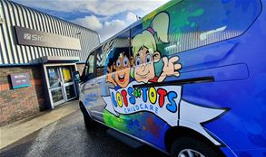Vehicle graphics by Signs Express