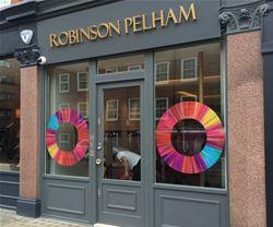 Shop front signs for Robinson Pelham in Twickenham