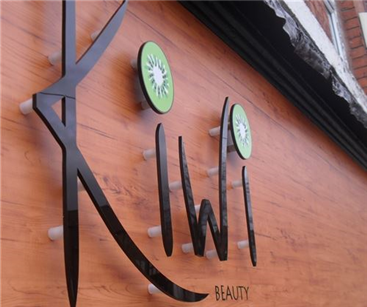 Exterior Sign for Kiwi Beauty, Warwick
