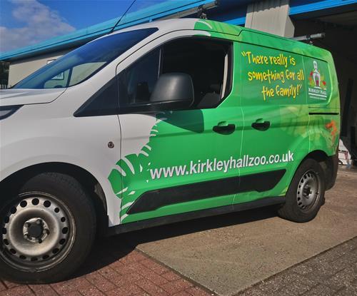 Kirkley Hall Zoo Vehicle Wrap
