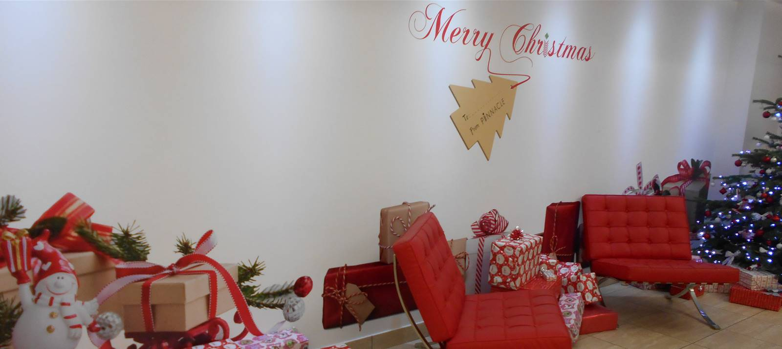 Christmas retail signage in Bristol by Signs Express