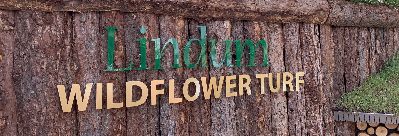 Signage on display at RHS Chelsea Flower Show
