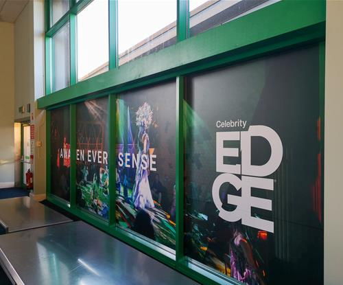 Celebrity Edge Window Graphics