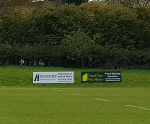 Main sponsor advertising signs