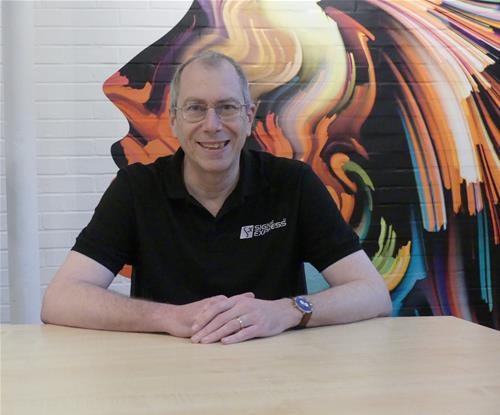Jeff Bufton, Head of Operations at Signs Express