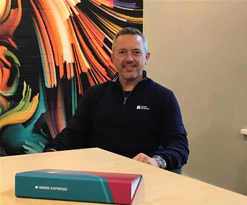 Paul Glover, Signs Express (Nottingham) Owner