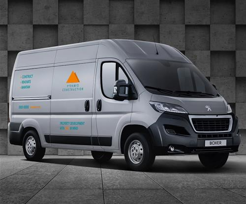 PEUGEOT Boxer Free Vehicle Livery