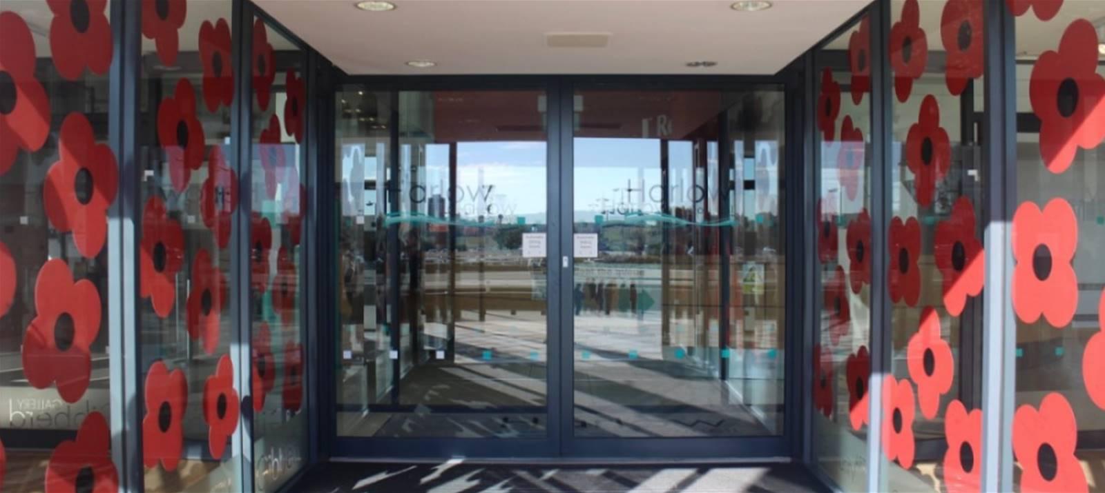 Window Display at Harlow Civic Centre
