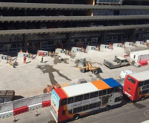 Preston Bus Station Signage Project - Bay Numbers