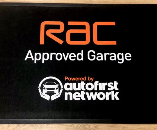 RAC Approved Welcome Signage