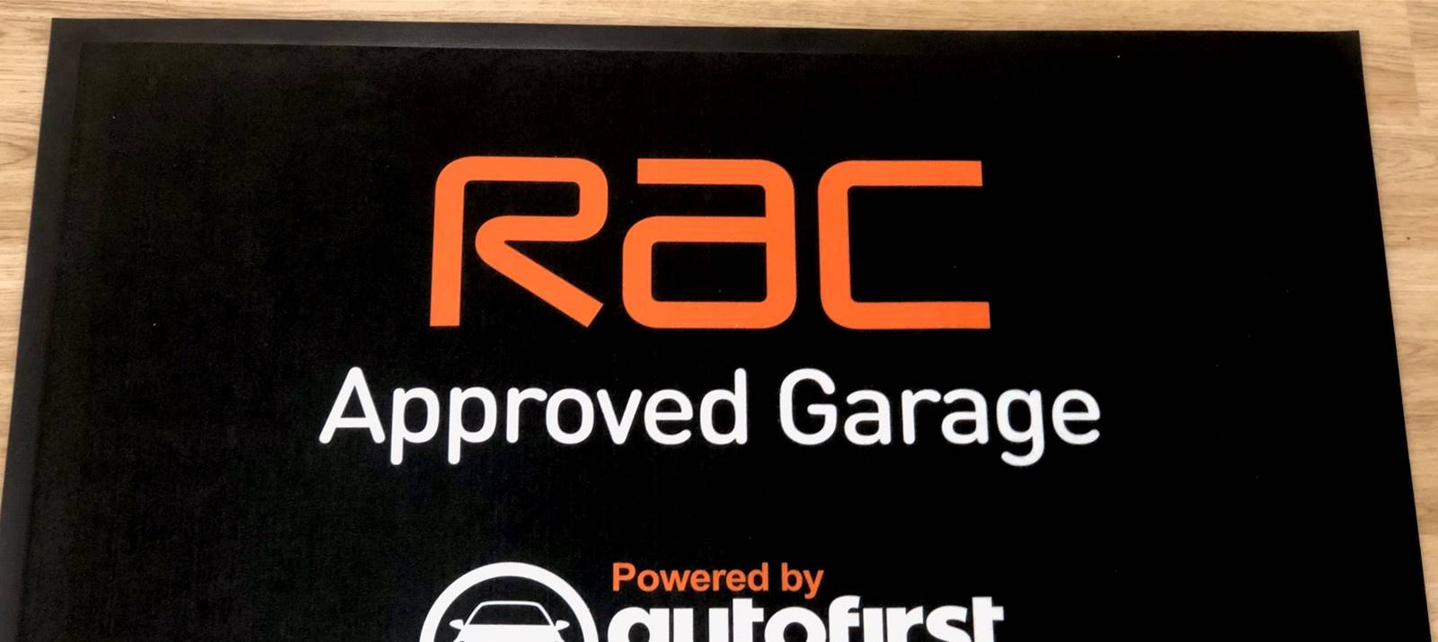 RAC Signage solutions from Signs Express Bath