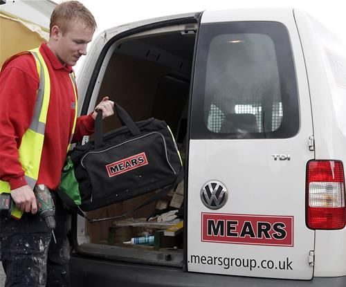 Mears provides care and maintenance services across the UK