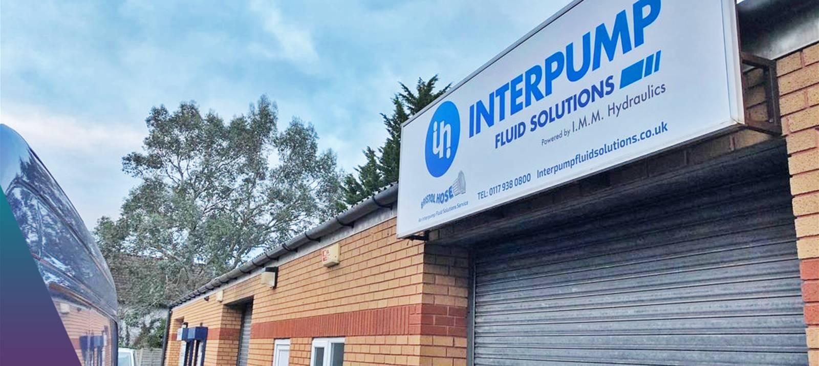 Interpump Business Sign - Bristol