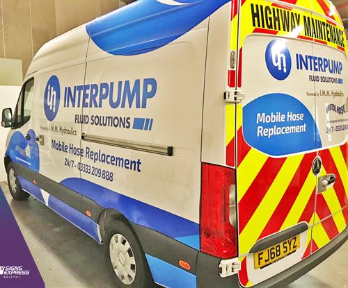 Interpump Vehicle Wrapping Bristol
