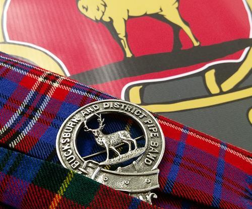 Signs Aberdeen - Bucksburn Pipe Band