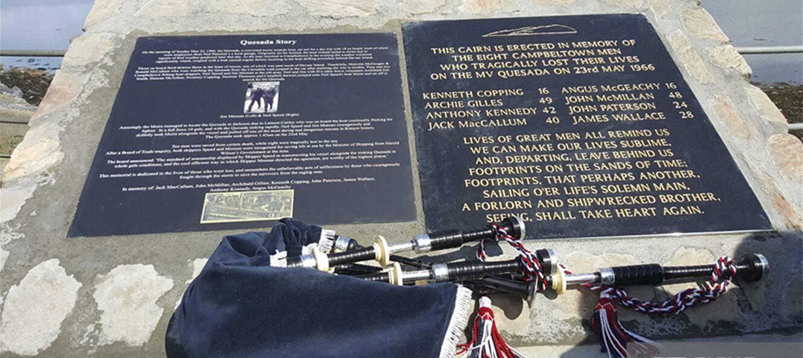 Signs Express Aberdeen Memorial, Campbeltown Scotland