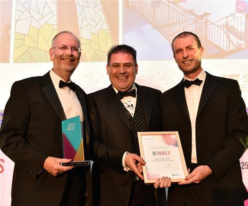 (L-R) Stephen Hall, Craig Brown (MD) and Ben Hall