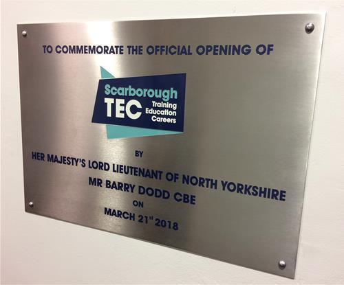 STEC Commemorative plaque