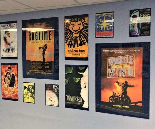 STEC Poster Wall