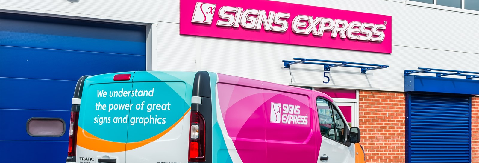 Signs Express Vehicle Graphic