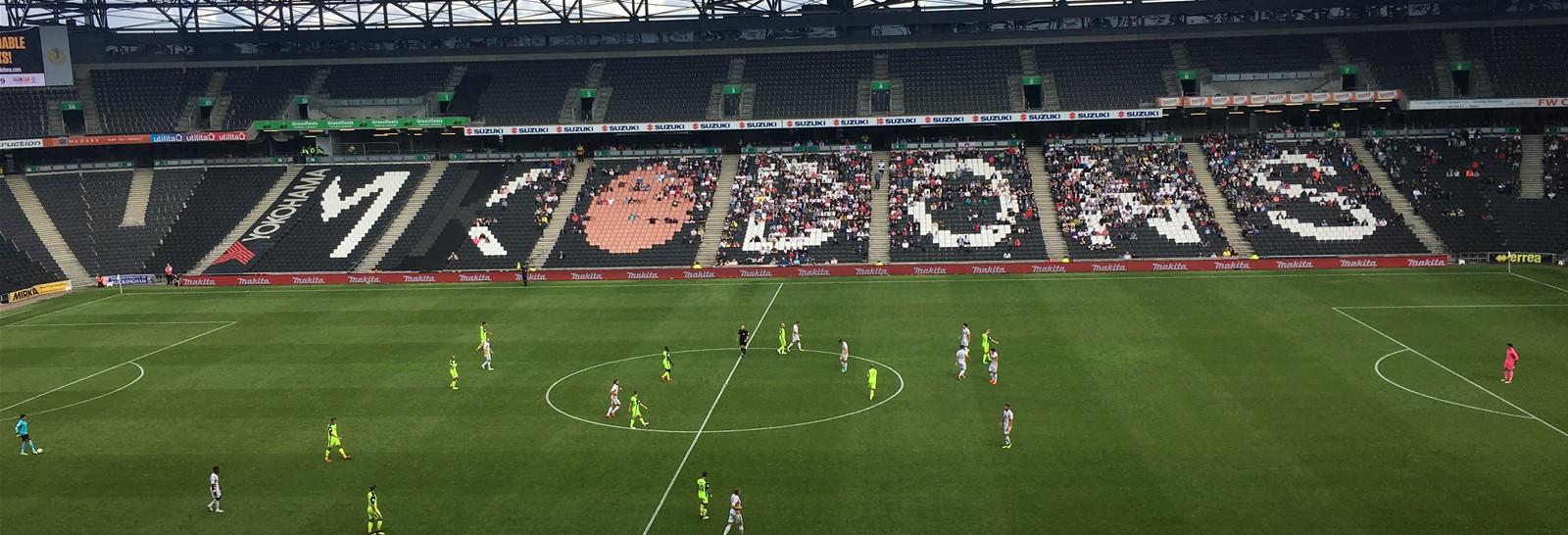 MK Dons match day sponsor