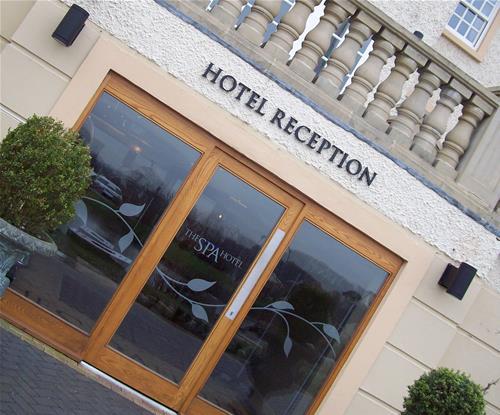 Hotel external signage