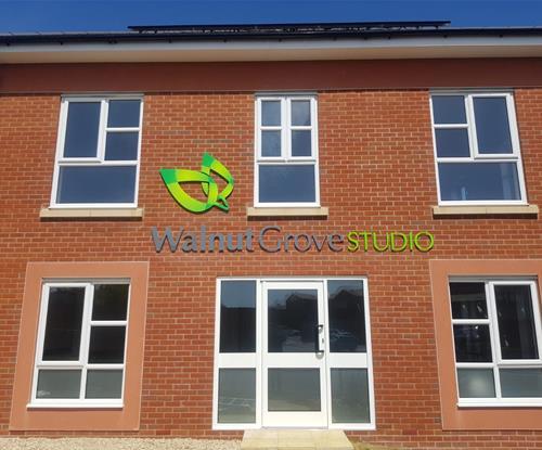 Exterior branding Walnut Grove Bristol