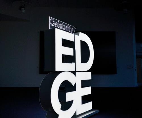 Illuminated LED Celebrity Edge Sign