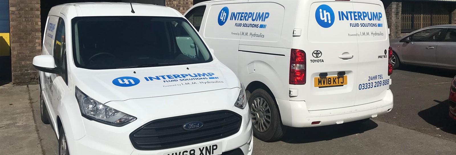 Fleet Livery for Interpump Hydraulics in Bristol