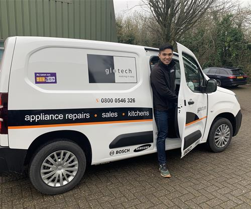 Vehicle Graphics for Glotech UK 2