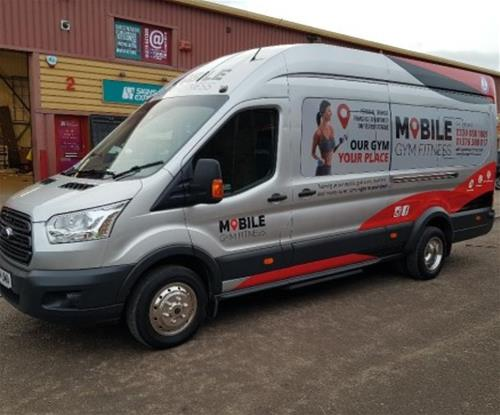 Mobile Fitness Gym part wrao