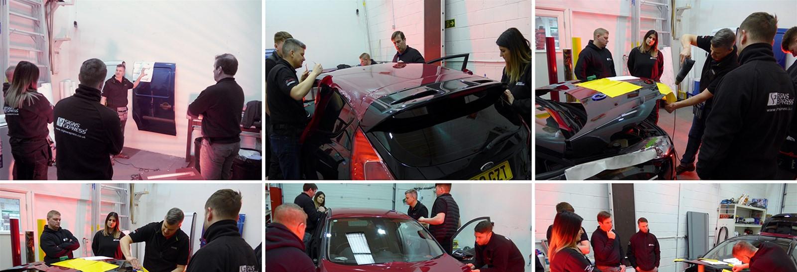 3M Wrap Films Vehicle Wrap Training Lancashire