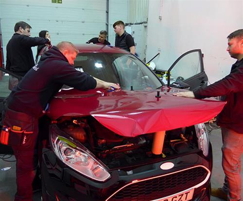 3M Wrap Films Vehicle Wrap Training Lancashire Preston