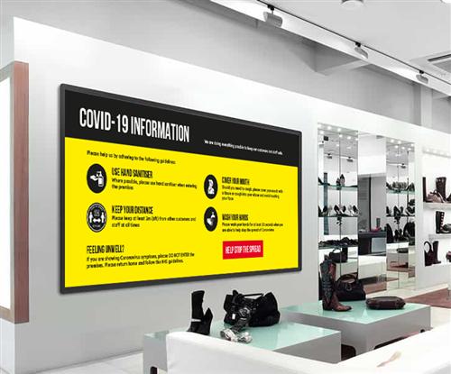 Covid-19 Digital Video Wall