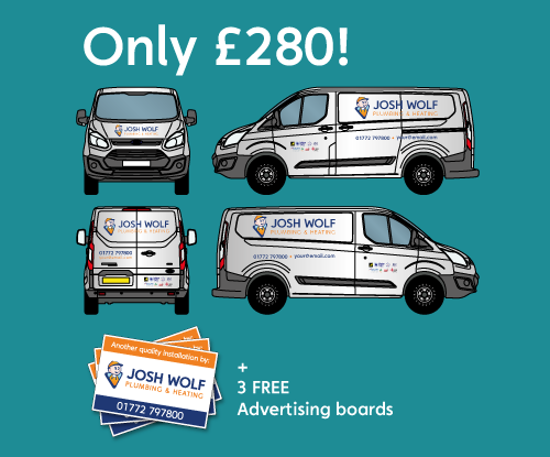 Special offer on van graphics from Signs Express