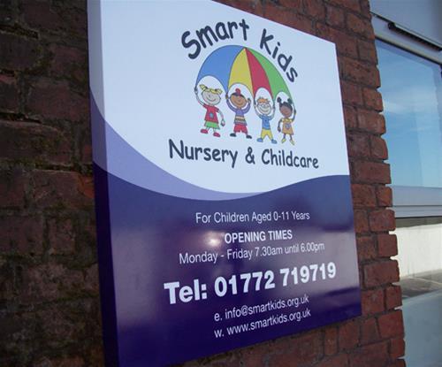Custom business shop school nursery sign