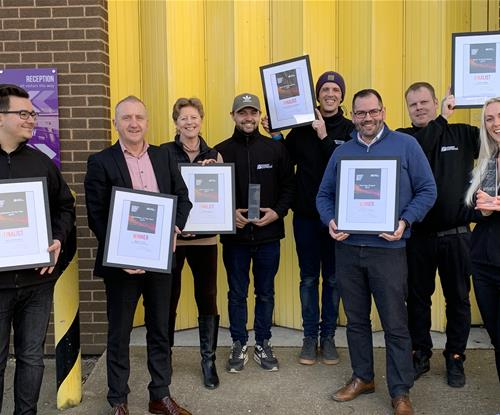 Franchisee of the year 2019 Signs Express Southampton