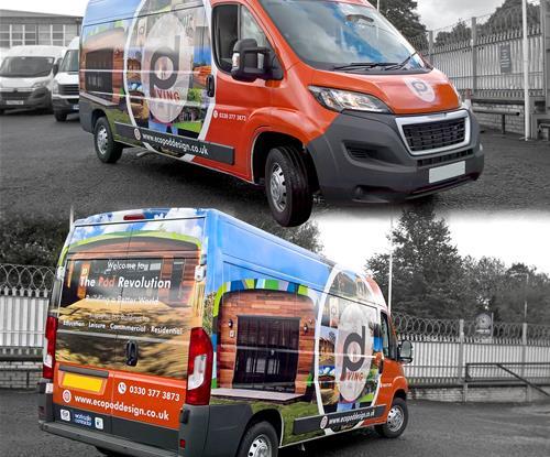Central Lancashire Vehicle Graphics Signs